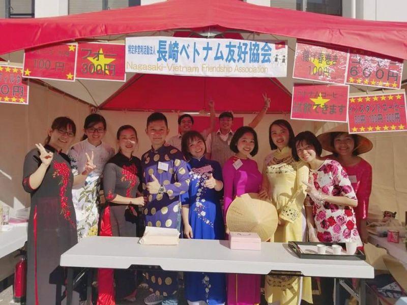 第20回ながさき国際協力・交流フェスティバルでクァンナム省を紹介