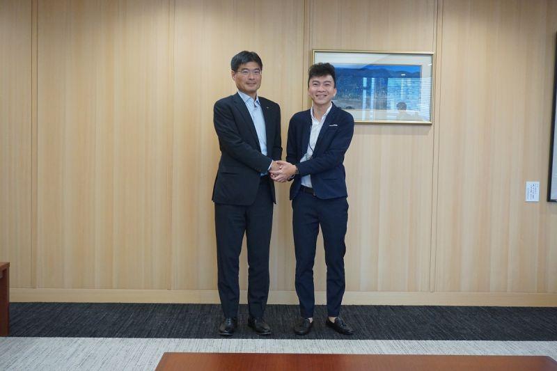 長崎県の平田副知事を表敬訪問し、ご挨拶をさせていただきました