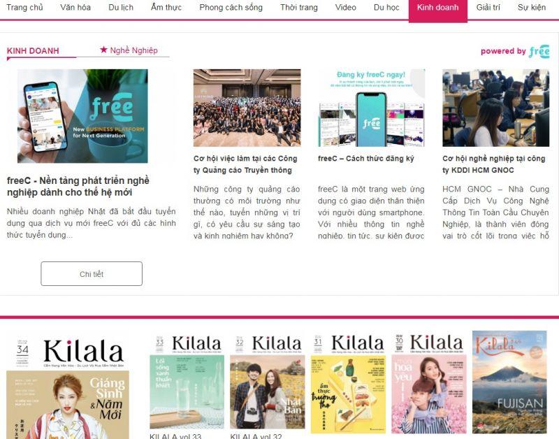 Kilala Job powered by freeC