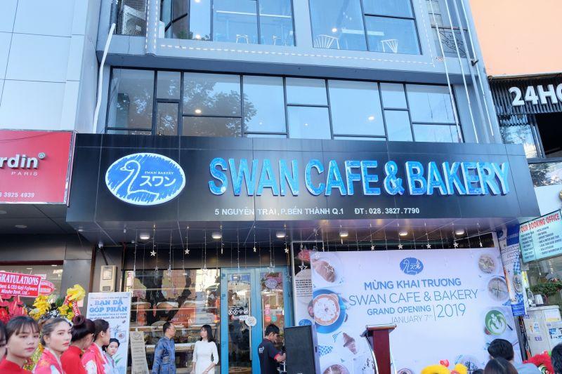 cửa hàng người khuyết tật Swan Cafe & Bakery