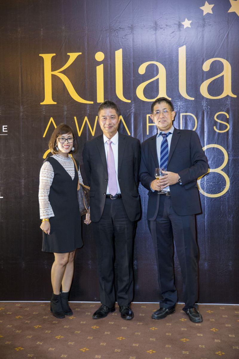 Kilala Awards 2018の授賞式