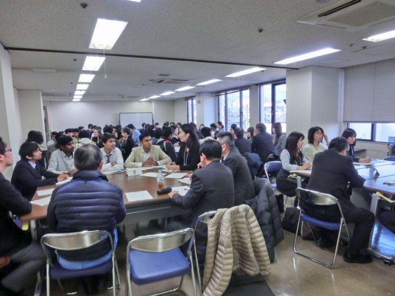 留学生と企業との交流会