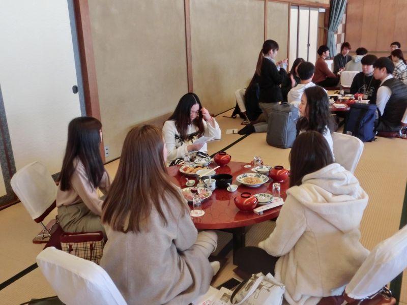 長崎市の料亭橋本における食文化体験