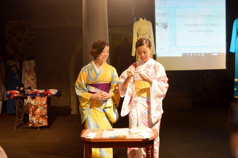 Nghệ thuật hoa vải tsumami