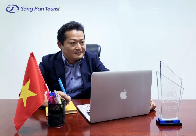 HIS ソンハン ベトナム ツーリストのホーチミン市統括支店長の矢野秀明氏