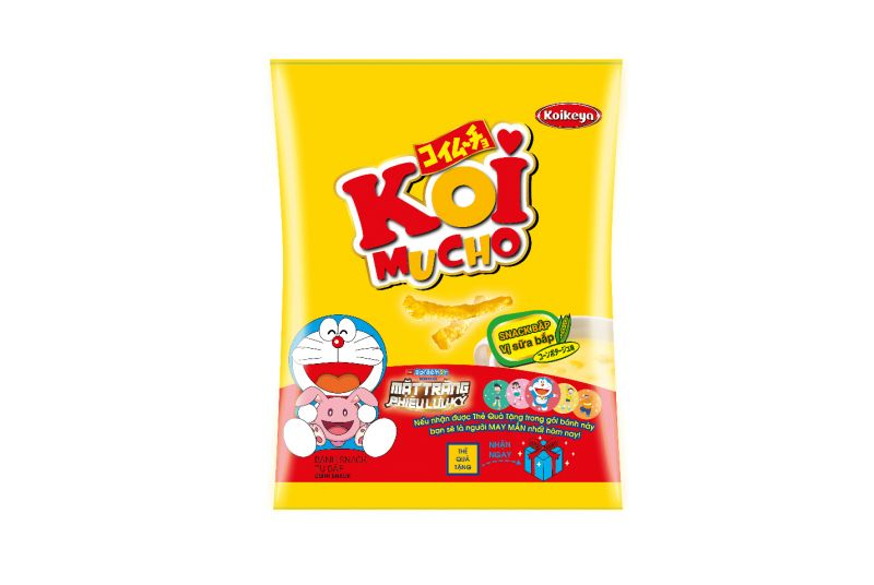 bánh Snack KoiMUCHO ngon Nhật Bản
