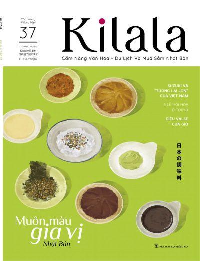 Kilala Vol.37: Muôn màu gia vị Nhật Bản