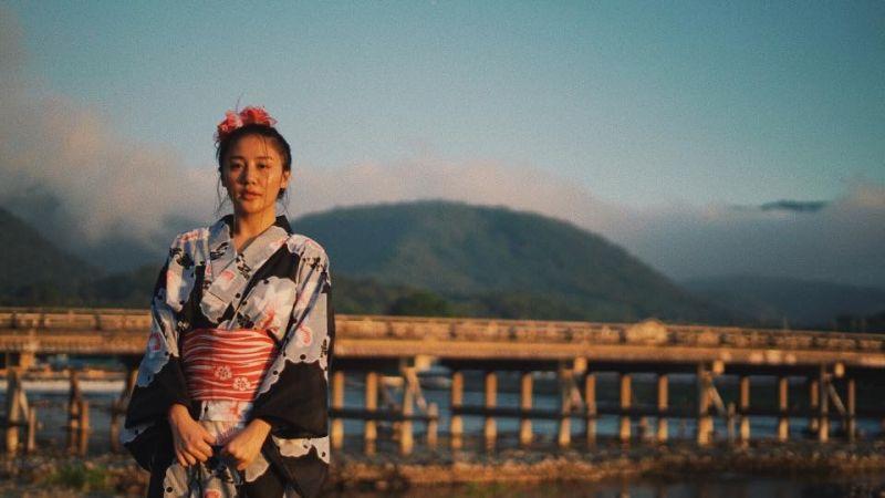 Văn Mai Hương ở Kyoto