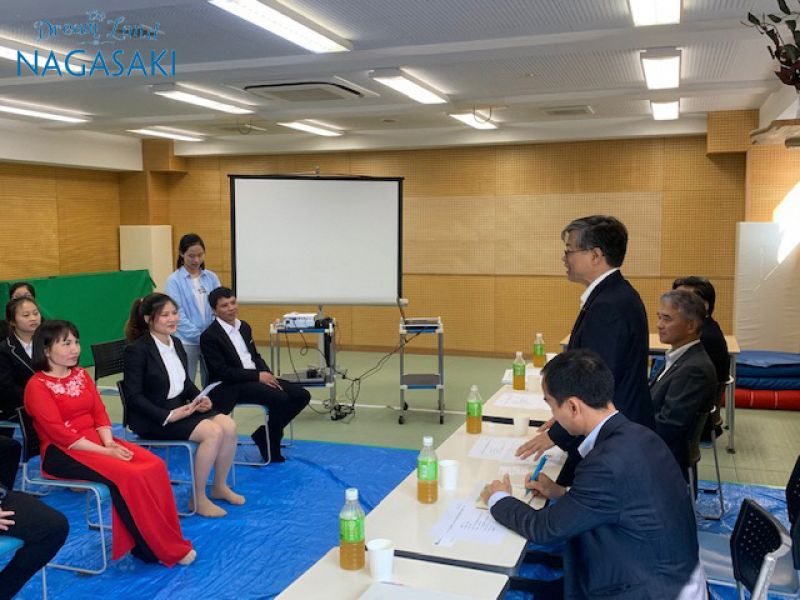 在福岡ベトナム総領事が長崎県を訪問された