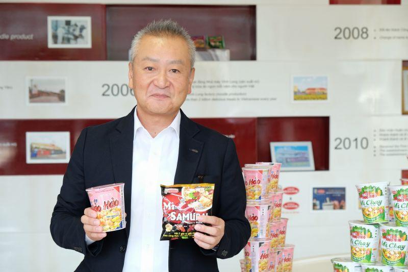 ông Hiroki Kaneda – đại diện Acecook Việt Nam