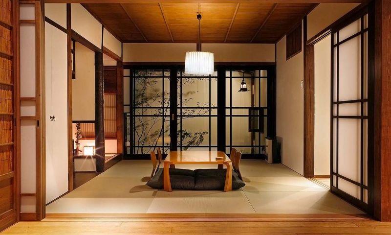 trang trí phòng theo cách Nhật Bản