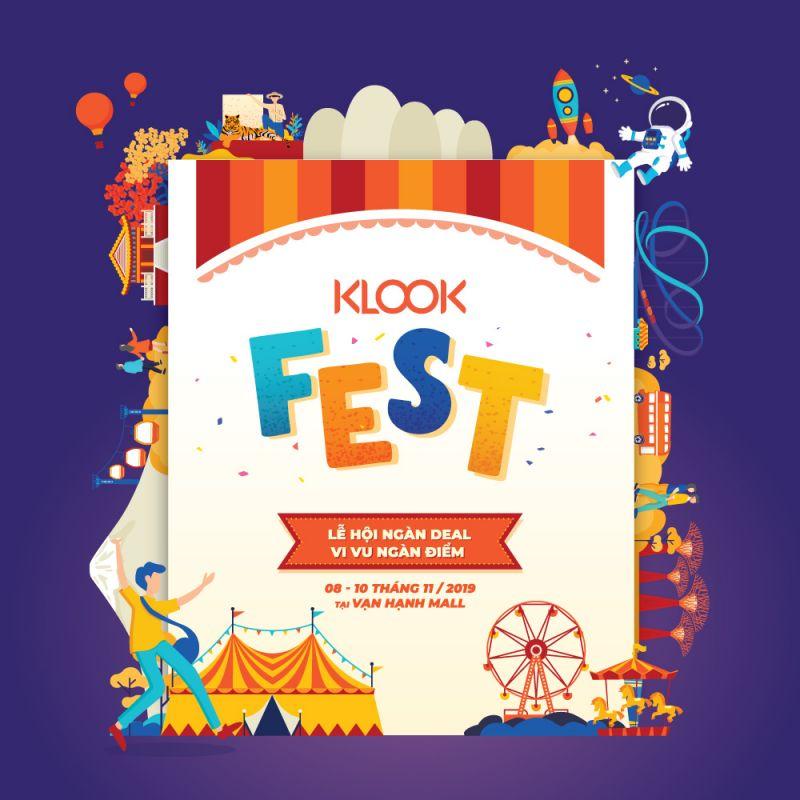 poster Klook Fest