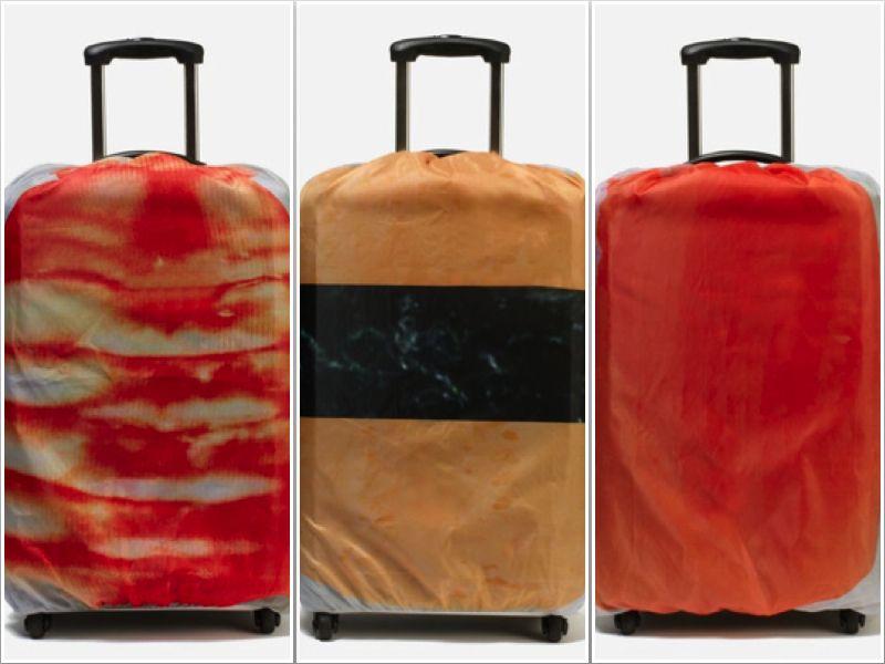 Bảo vệ vali hình sushi