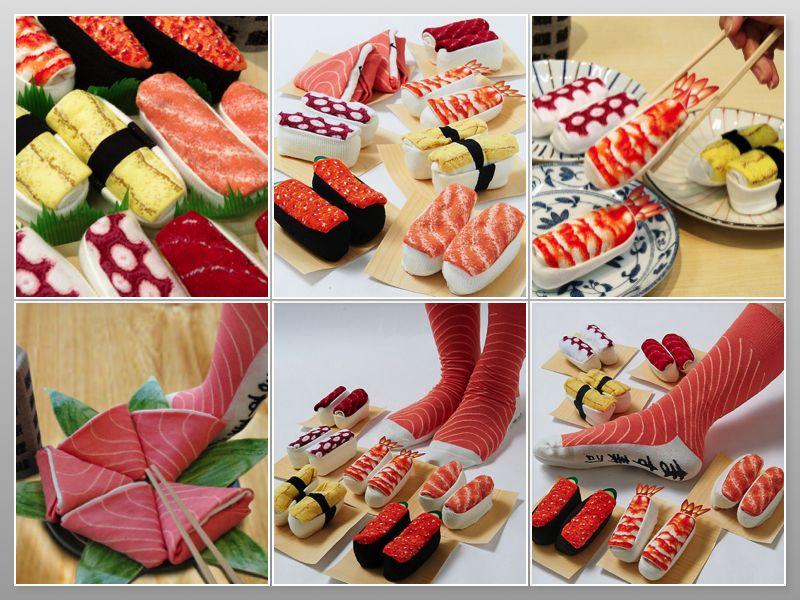 vớ hình sushi 1