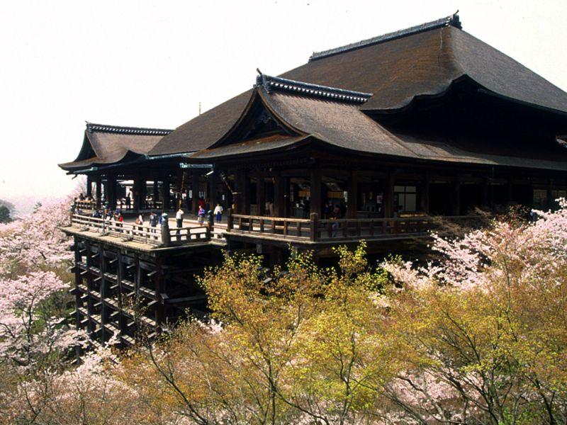 Đền Kiyomizu Nhật Bản