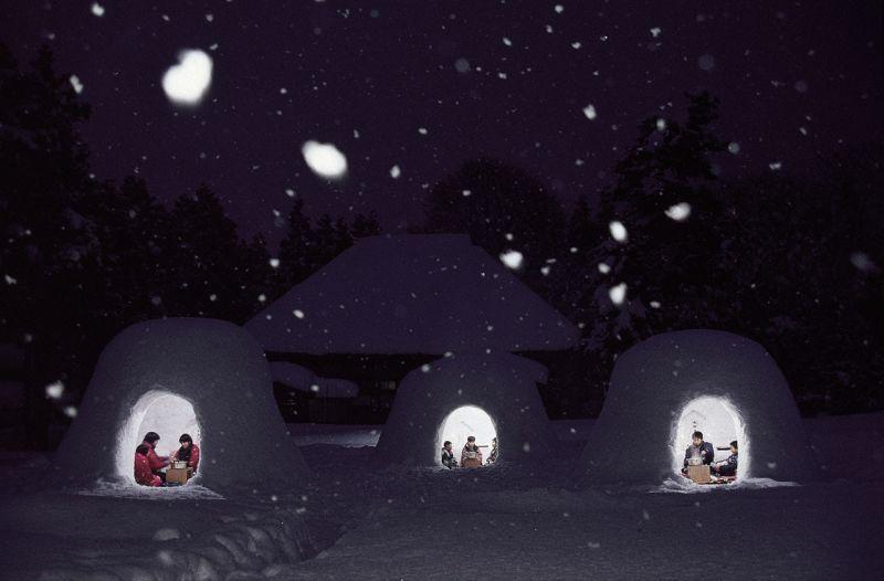 lều tuyết kamakura
