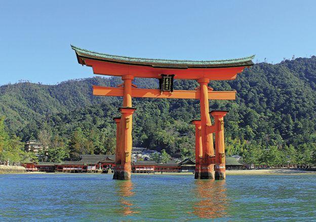 Miyajima - đền thần Itsukushima