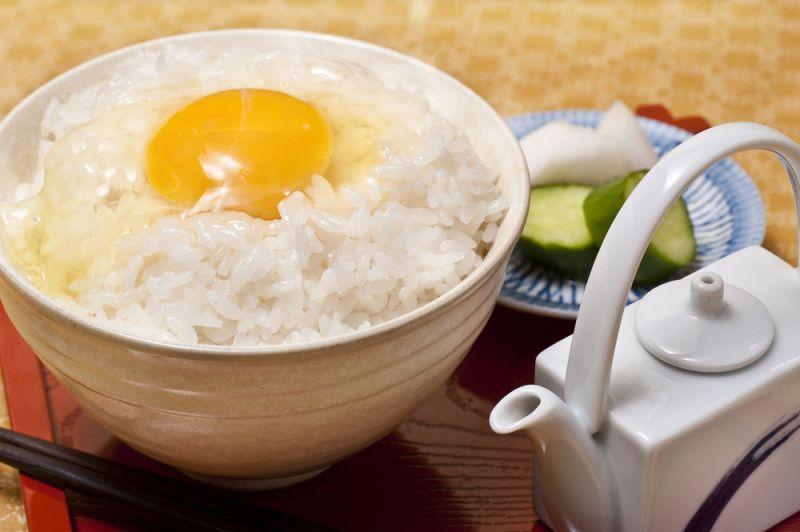 Nama-tamago - Trứng sống
