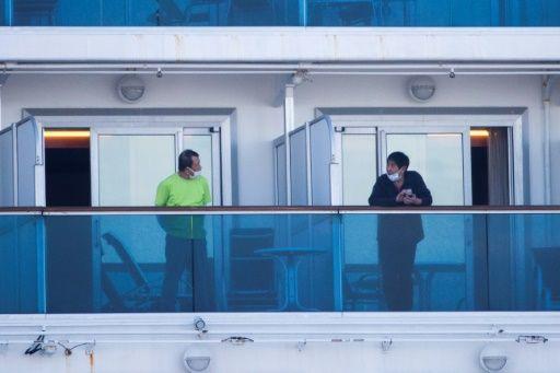 thêm 44 người nhiễm virus Corona trên tàu Diamond Princess