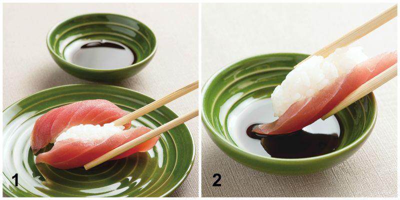 ăn sushi đúng cách