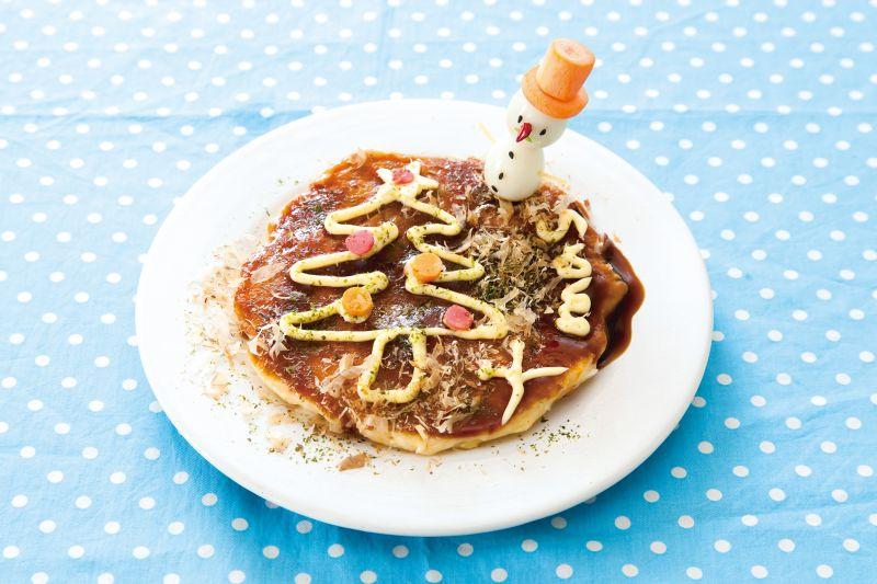 cách làm bánh xèo Okonomiyaki