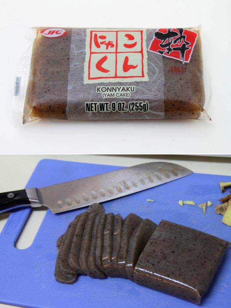 Konnyaku – món ăn làm từ lưỡi của quỷ