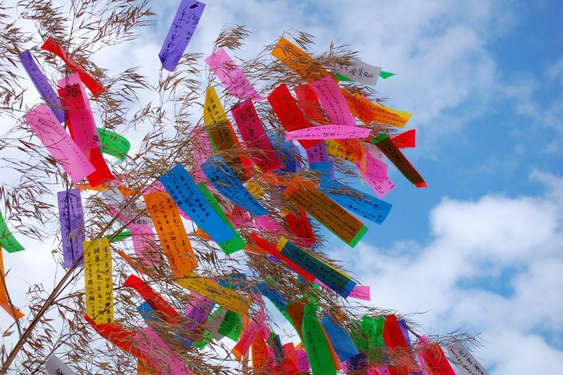lễ hội Thất tịch Tanabata Matsuri