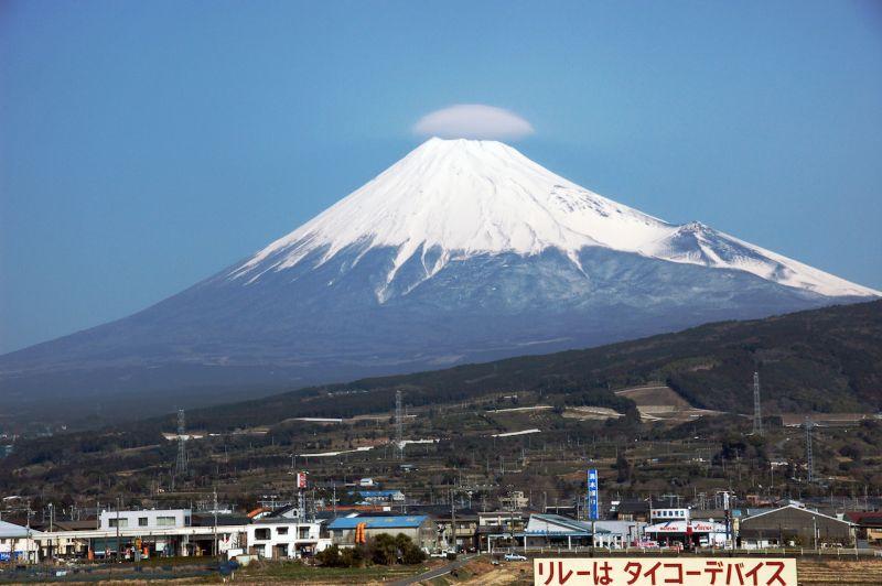 quang cảnh núi Phú Sĩ