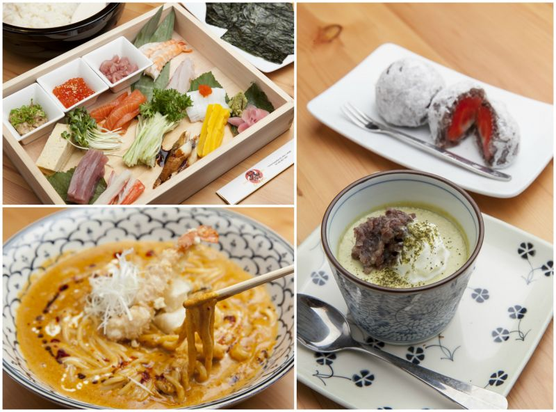 Các món ăn hấp dẫn của Hinomoto Matsuri