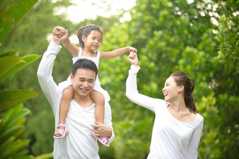 trẻ phát triển phụ thuộc mối quan hệ giữa bố mẹ nhau