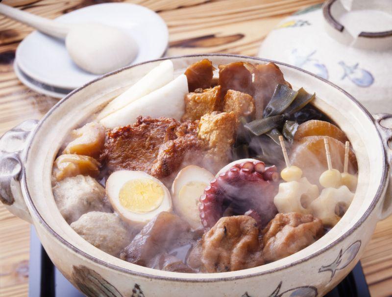 lẩu Oden ngày đông của Nhật