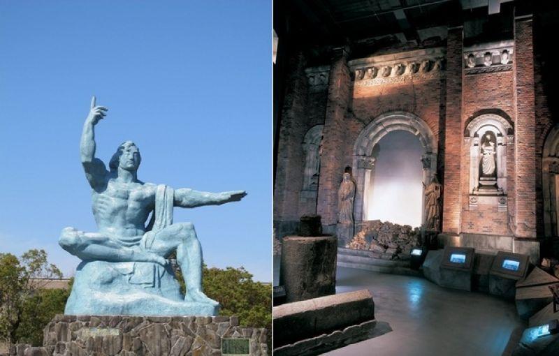 tượng đài và bảo tàng bom nguyên tử Nagasaki