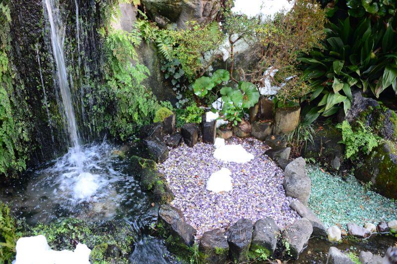 vườn đá quý Shingen no Sato