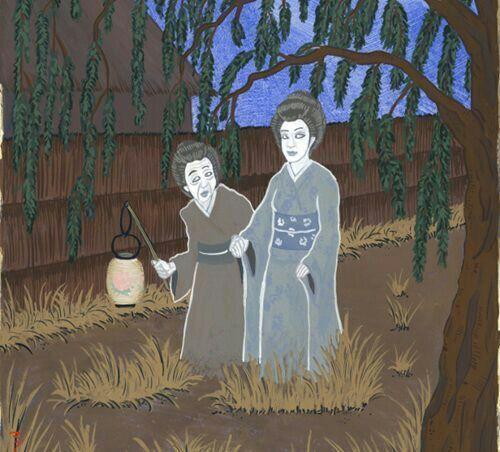 truyện kinh dị Nhật Bản: Lồng đèn mẫu đơn