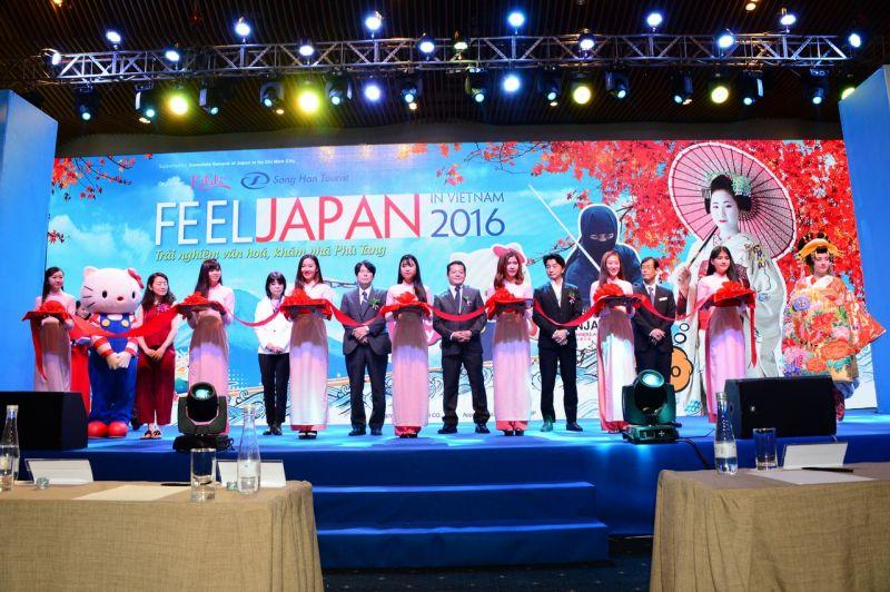 khai mạc lễ hội Feel Japan in vietnam 2016