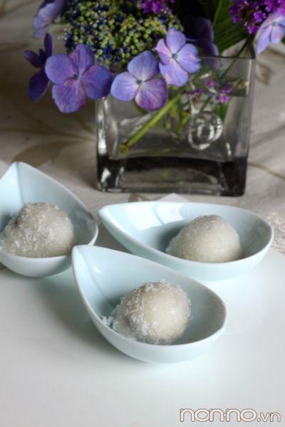 bánh dango dừa