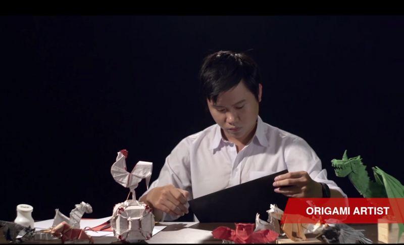 Origami là nghề kiếm được mức thu nhập mơ ước
