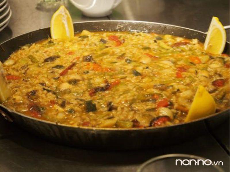 cơm Paella Tây Ban Nha