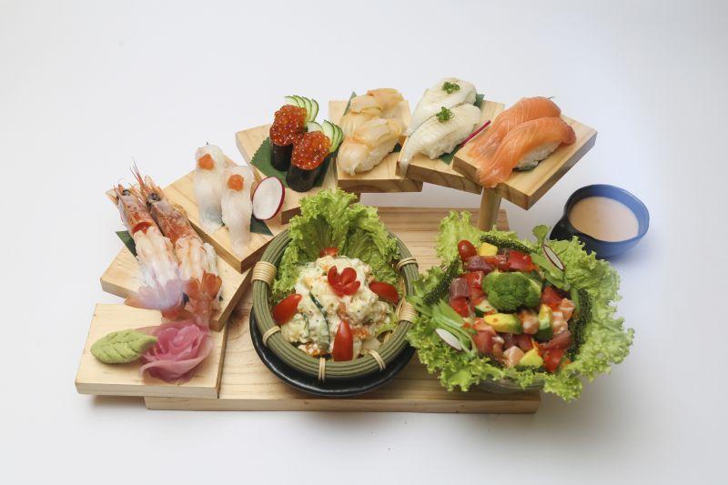 những món Sushi tại nhà hàng