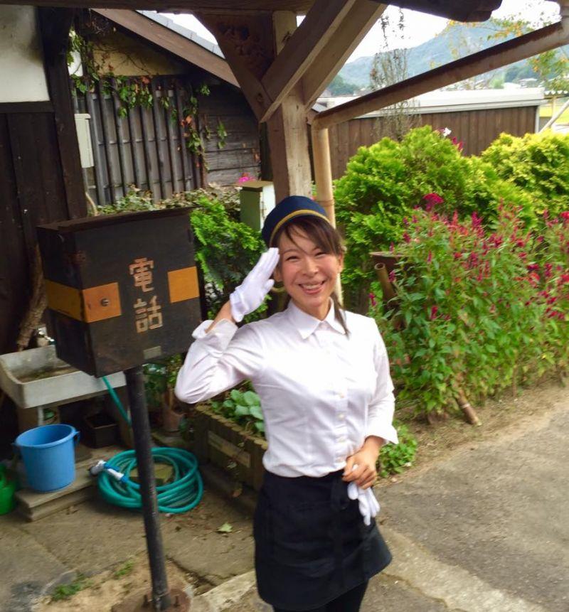 nữ tiếp viên Miyako