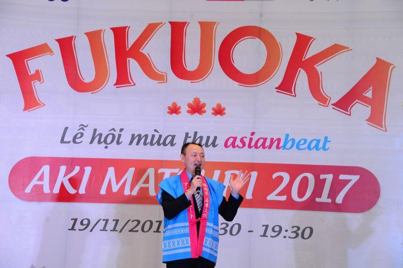 Ông Naoto Imaizumi – Giám đốc bộ phận Chính sách quốc tế của tỉnh Fukuoka