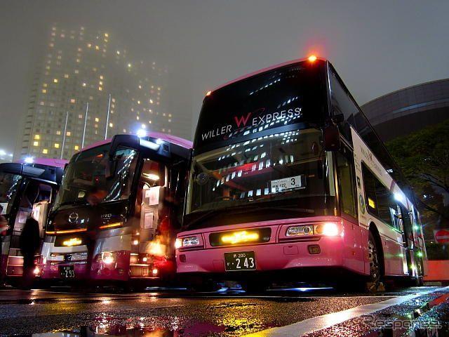 hãng Willer Express để đi từ Osaka đến Tokyo