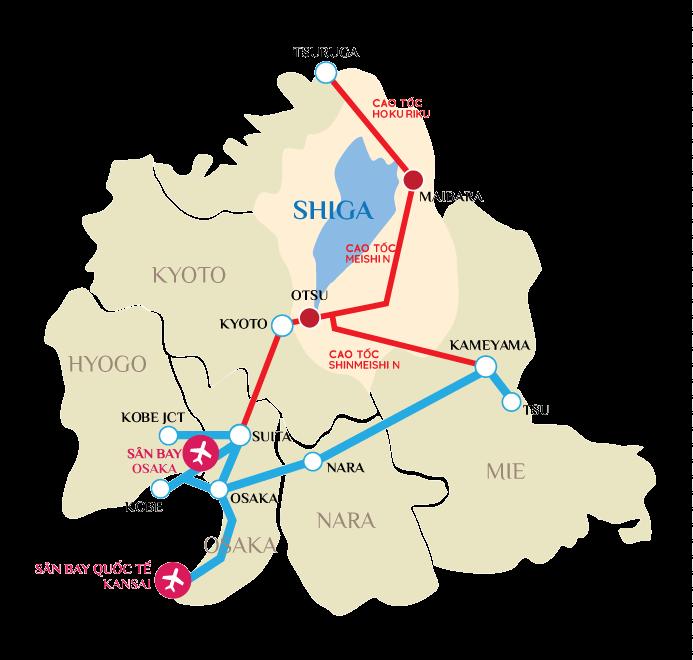 JR tuyến Tokaido biwako line