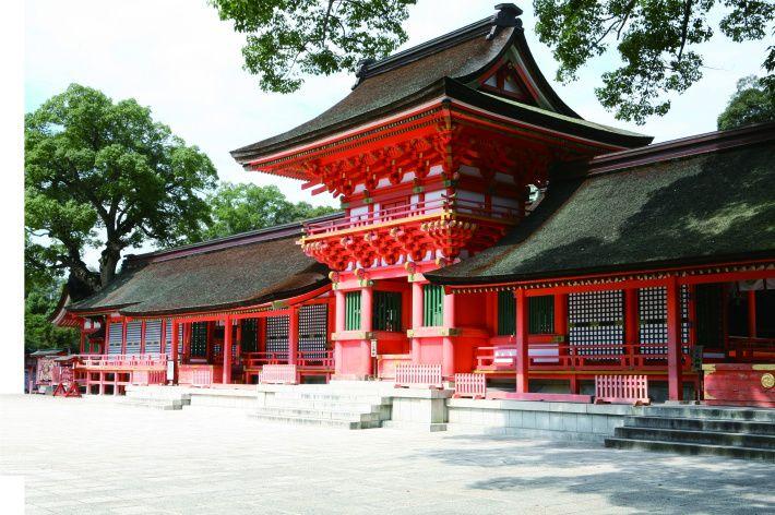 đền thần đạo Usa Jingu