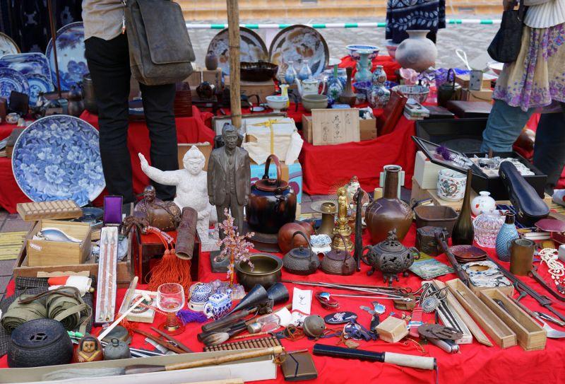 chợ trao đổi đồ cũ ở Nhật