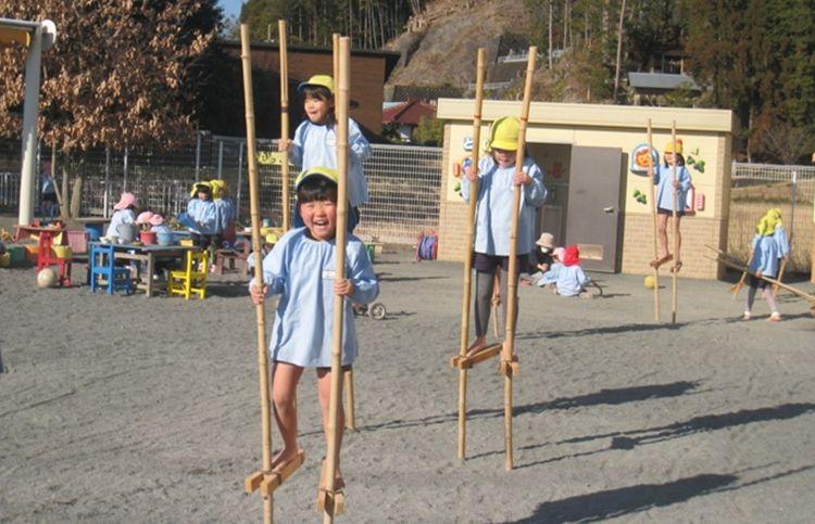 trò chơi cà kheo tại Nhật