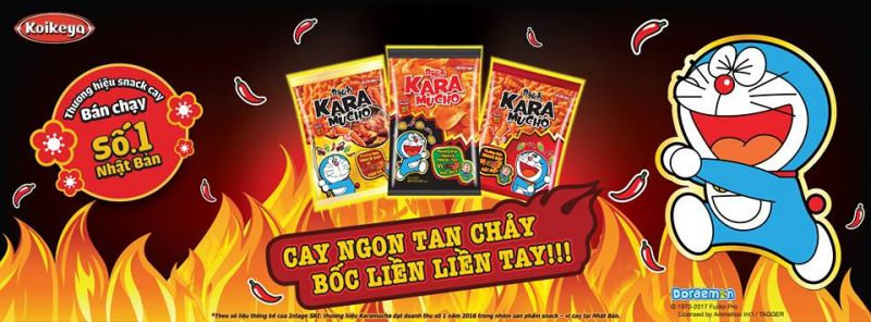 Snack Karamucho cay