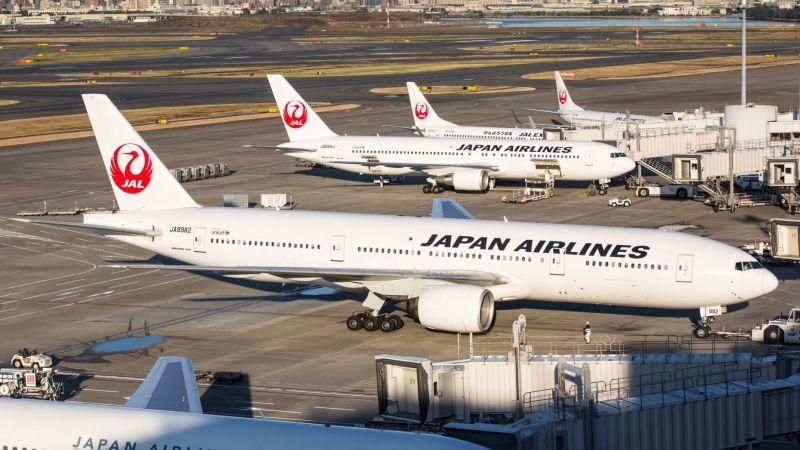 Máy bay hãng hàng không JapanAIrlines