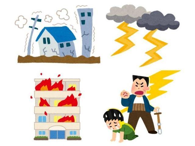 Động đất, sấm sét, hỏa hoạn và người bố