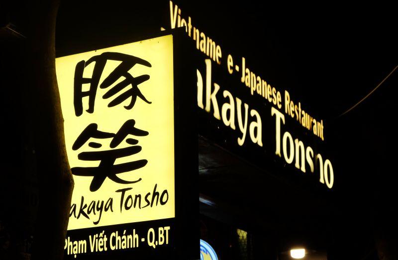 phố ẩm thực Nhật Bản ở Sài Gòn